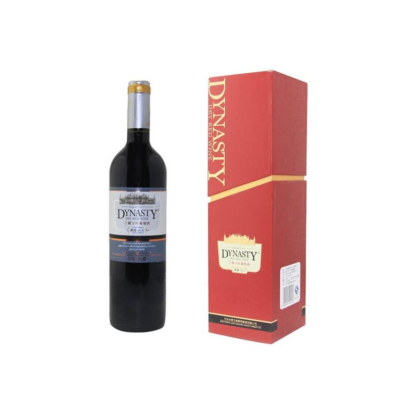王朝(葡萄酒)典藏精品干红葡萄酒红酒750ml