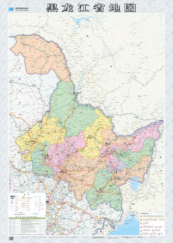 2013年黑龙江省地图
