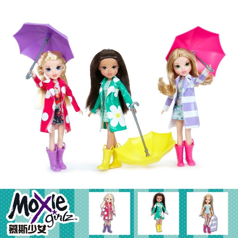 慕斯少女 彩色雨衣系列 女孩玩具图片