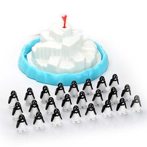 【爱亲亲】儿童益智玩具 趣味冰山叠企鹅 桌面游戏 亲子互动