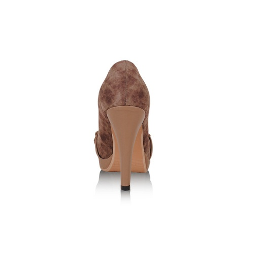 新款时尚单鞋女士最爱热卖潮流加厚底防水台高跟深口