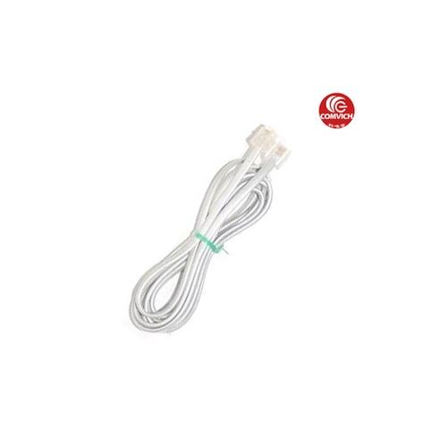 电话线 四芯电话线 品名:定制电话线(两端带水晶接头