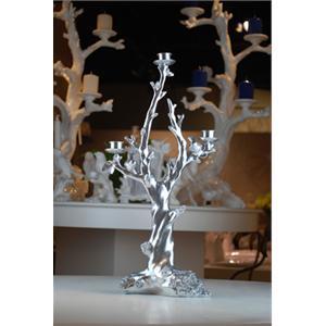家居饰品树脂工艺品摆设欧式新古典简约风格树枝烛台