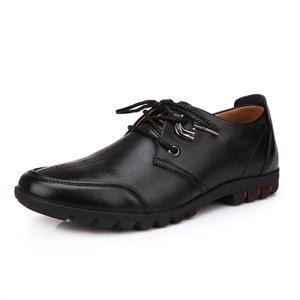 Pubgo步步高男士皮鞋 2014新款头层牛皮商务休闲鞋 舒适日常休闲鞋M10354