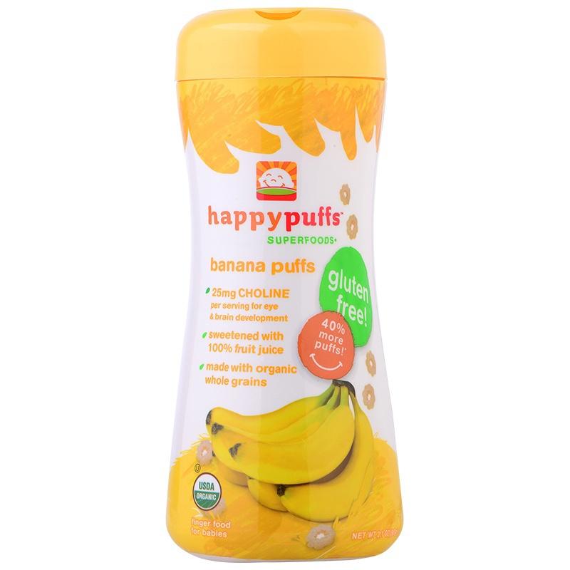 Happybellies 禧贝 香蕉小麦圈60g¥39.5