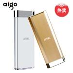 ����Ʒ�ػ�+13000����˫USB����� Aigo ��Ʒ�ƶ���Դ��13000������籦 ƻ�� ���� HTC С���ֻ�ƽ��ͨ�ö�����D132 ֧��99%%�ֻ��� 1A/2.1A˫����������ֻ� ԭװ��о ������