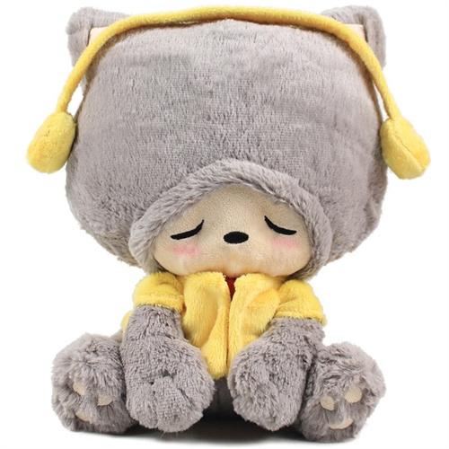 00 数量:-  卡拉梦 luckycat幸运猫公仔 创意毛绒玩具可爱娃娃玩偶 生