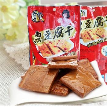 [当当自营] 好巴食 豆腐干 综合口味装200g 休闲零食