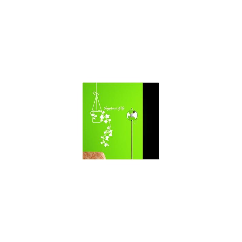 欢乐吊篮 韩国贴纸田园客厅电视背景宜家衣柜墙壁纸