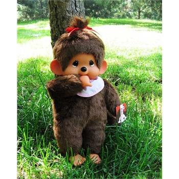 香港童话 蒙奇奇娃娃基本款小猴子 大号45厘米 女孩