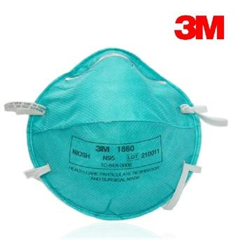 正品3m口罩1860/1870 n95 防病毒pm2.5|禽流感|粉尘|防雾霾20只/盒图片