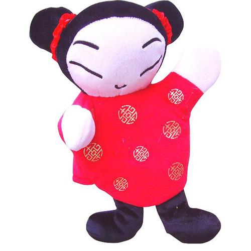 可爱中国娃手偶