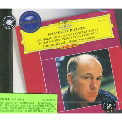 进口CD 柴科夫斯基 第一钢琴协奏曲 ,拉赫玛尼诺夫 第二钢...