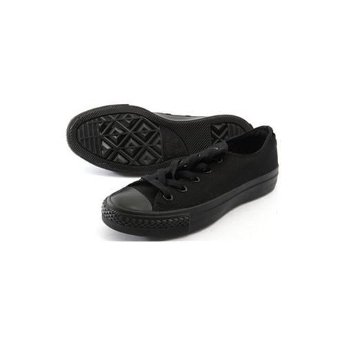 星star经典全黑低帮情侣帆布鞋