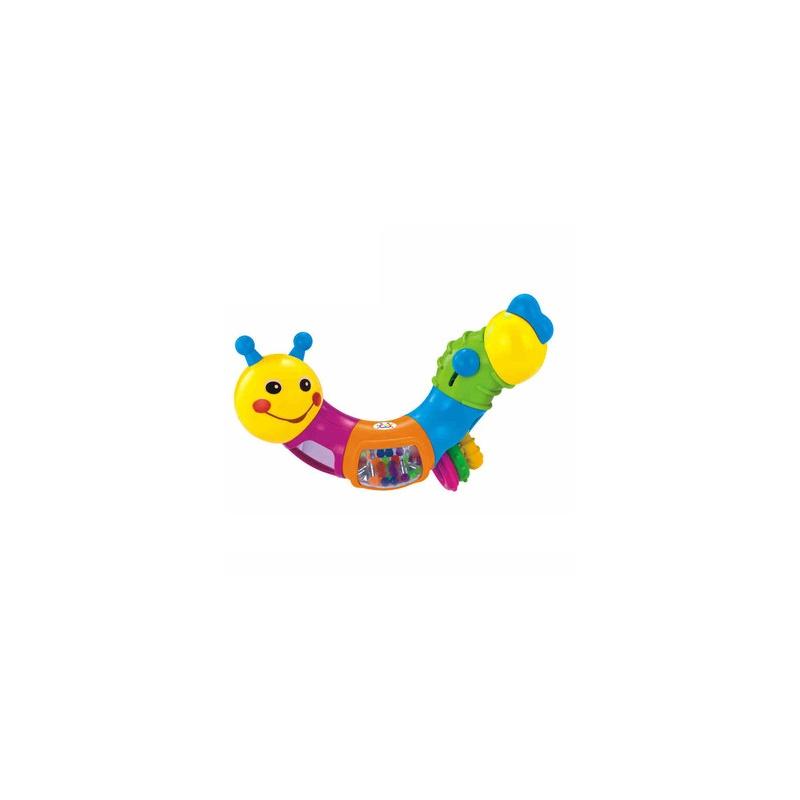 汇乐玩具 786b可爱小虫子 多功能扭扭虫 可爱虫子_彩色