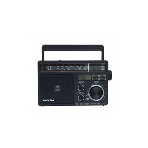熊猫t09插卡收音机 调频/中波/短波 usb sd tf 插电 电池