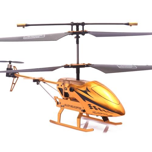 福奇遥控飞机3.5通道红外线遥控直升飞机带陀螺仪礼盒