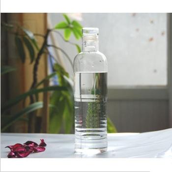 吉满 创意手工耐热玻璃瓶 矿泉水瓶 漂流瓶 玻璃水瓶