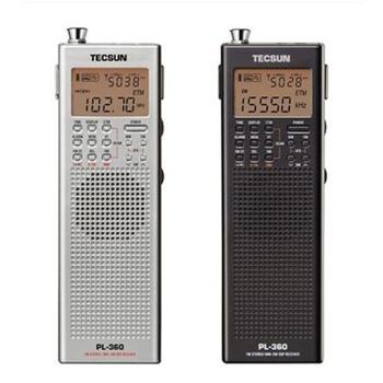 Tecsun/德生 PL360 立体声收音机 自动开关机 多功能