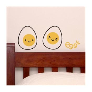 双色可爱熊猫们 新饰线墙贴 卧室床头墙壁贴纸电视背景墙贴画