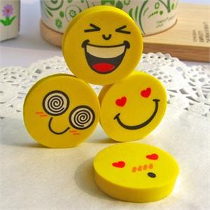 表情橡皮擦4个 15g/创意文具/可爱的小学生学习用品
