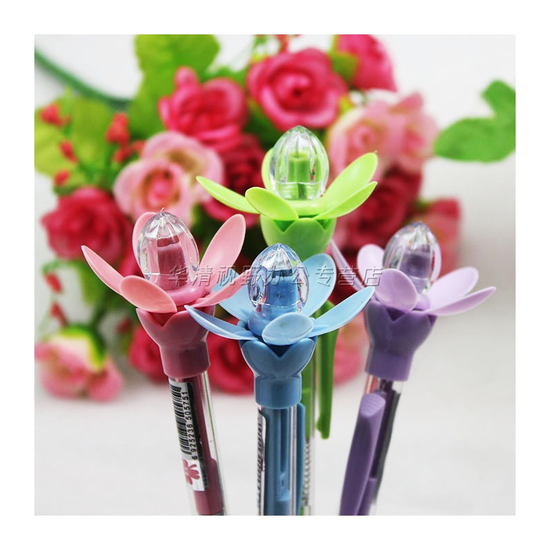 韩国文具可爱创意学生儿童自动铅笔开花自动笔活动铅笔礼品笔0575