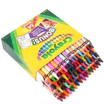 52色52_crayola绘儿乐 64色彩色蜡笔52-0064