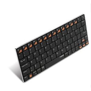 rapoo雷柏e6500 蓝牙键盘 超薄刀锋 安卓平板 手机无线迷你游戏小键盘