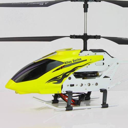 活石46cm超大合金充电遥控飞机 陀螺仪遥控直升机 儿童遥控玩具 七夕