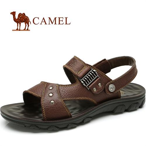 CAMEL骆驼 男鞋 2013夏季新款 清凉舒适沙滩凉鞋 82211603