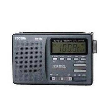 德生dr-920数显钟控全波段收音机tecsun dr920四六级考试数显短波收音