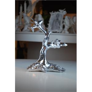 家居饰品树脂工艺品摆设欧式美式新古典风格小鸟树枝