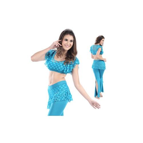 丝黛丽丝 肚皮舞演出服套装 高档练习服 舞蹈服装 ps2014