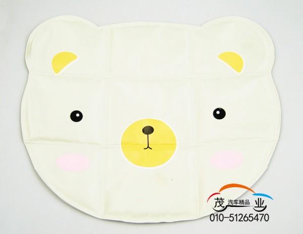 韩版卡通小白熊冰垫/冰凉坐垫/水垫/凉垫/笔记本降温