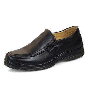 Pieer leiig/皮尔莱利 商务正装 纯牛皮经典套脚 皮鞋125-1
