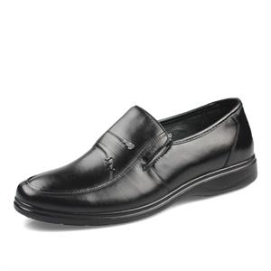 Trumpcar老爷车 头层小牛皮时尚简洁舒适男士商务正装皮鞋 198062