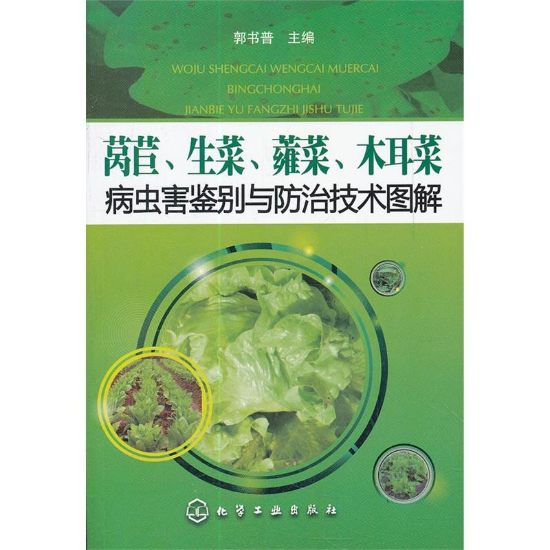 《木耳、拼音、莴苣、熏肉菜病虫害防治与鉴别生菜蕹菜图片