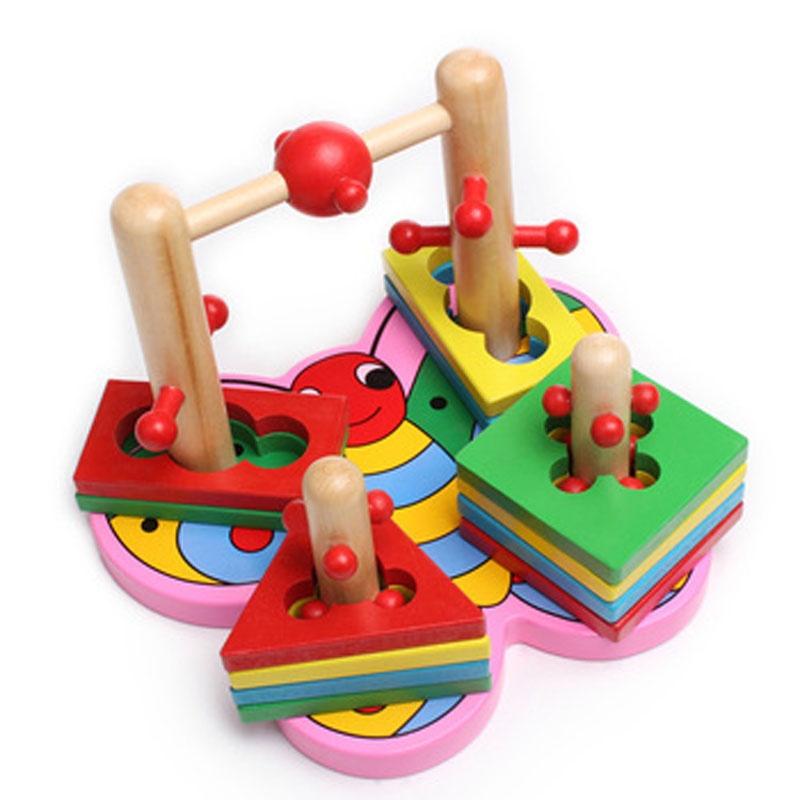 益智玩具 儿童早教积木玩具 3d立体拼搭积木 幼儿园教具