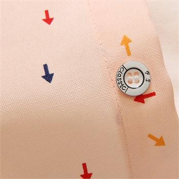 paydaily 2015春装新款男士 新 时尚小清新 彩色箭头印花 百搭长袖
