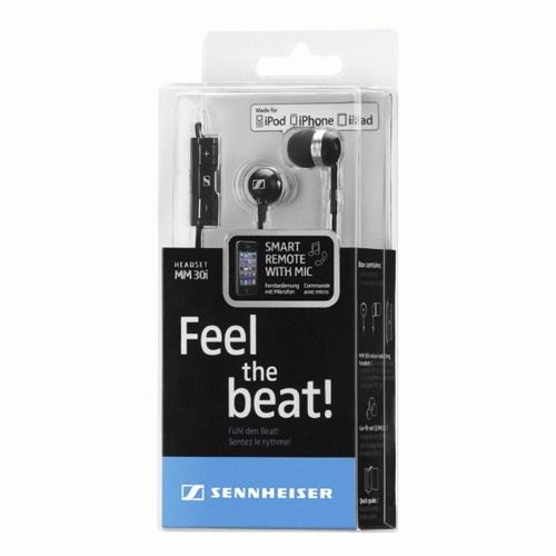 senheiser森海塞尔 mm30i 集成麦克/音量控制/苹果设备授权支持 耳塞