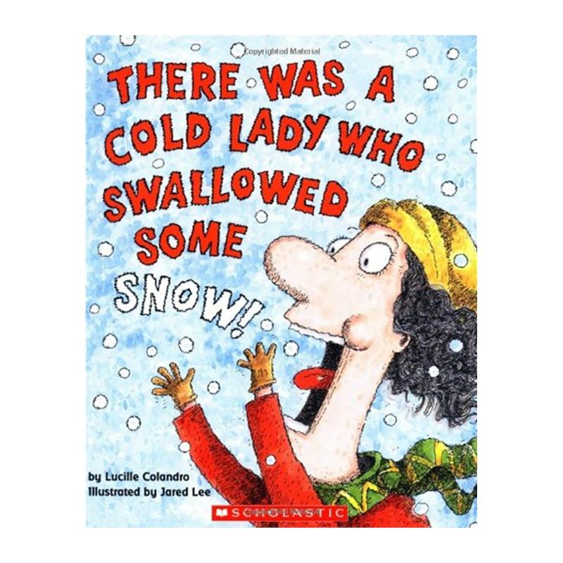 《吃雪的老婆婆 英文原版 A Cold Lady Who S