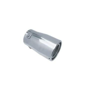 通用型 双筒式汽车排气管尾喉消声器 平口圆 hl 7852高清图片