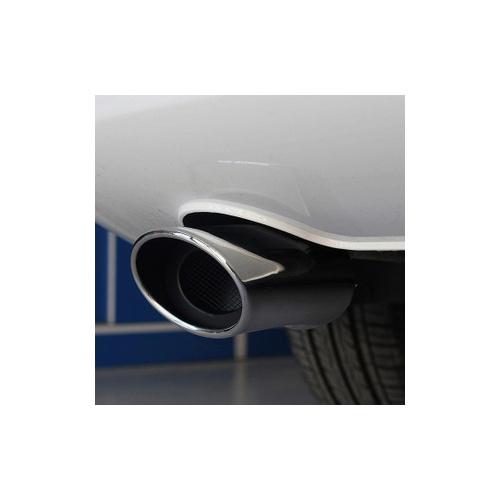 科鲁兹汽车排气管 304不锈钢消声器 尾吼 消音器新品 防生锈 使声音高清图片