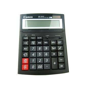 Canon/佳能计算器WS-1610T佳能16位数显示计算器1610T大号