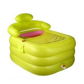成人浴盆加厚塑料折叠浴桶