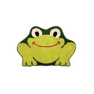 儿童可爱风地毯/客厅卧室加厚绿青蛙卡通毛