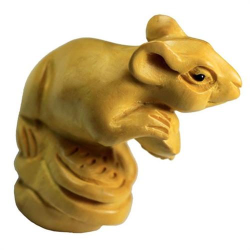 木雕发财鼠图片大全