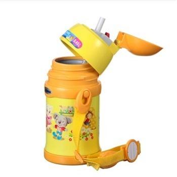 日本象印儿童大象保冷杯/保温杯/吸管杯