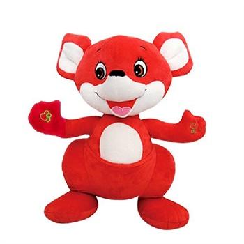 语音精灵 小红袋鼠 幼儿画报安全自护故事早教智能益智玩具