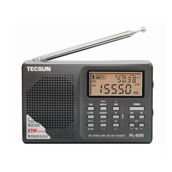 德生 PL-606/PL606全波段数字解调立体声收音机 袖珍